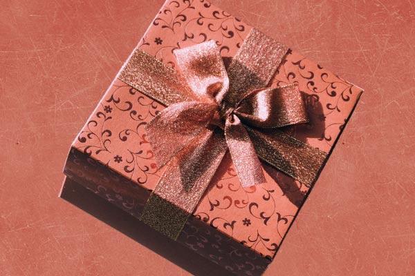 Ein Rasiermesser als Geschenk