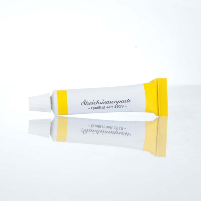 Herold Pflegepaste für Rasierriemen gelb