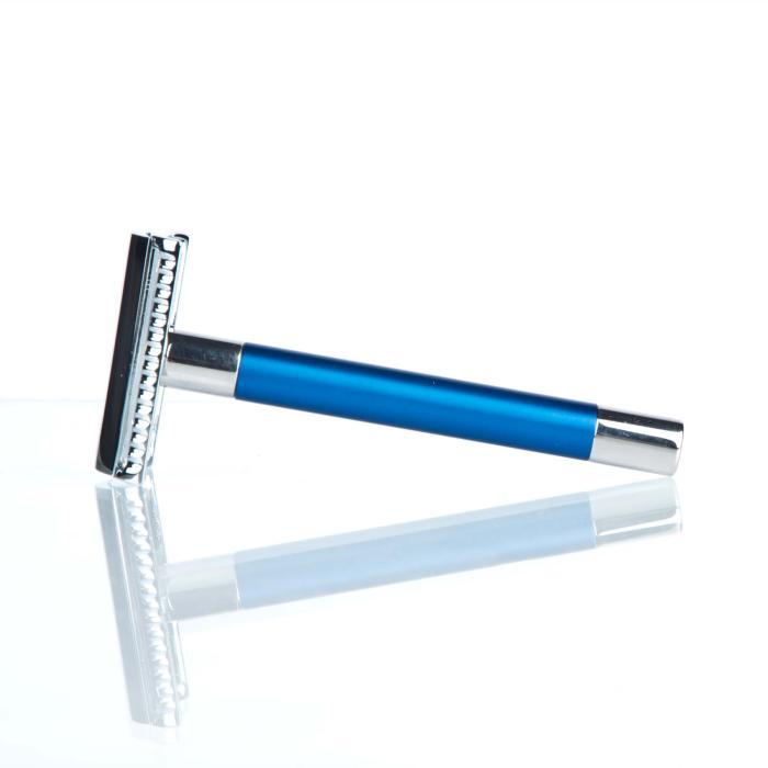 RMK Solingen Rasierhobel K1 Blau