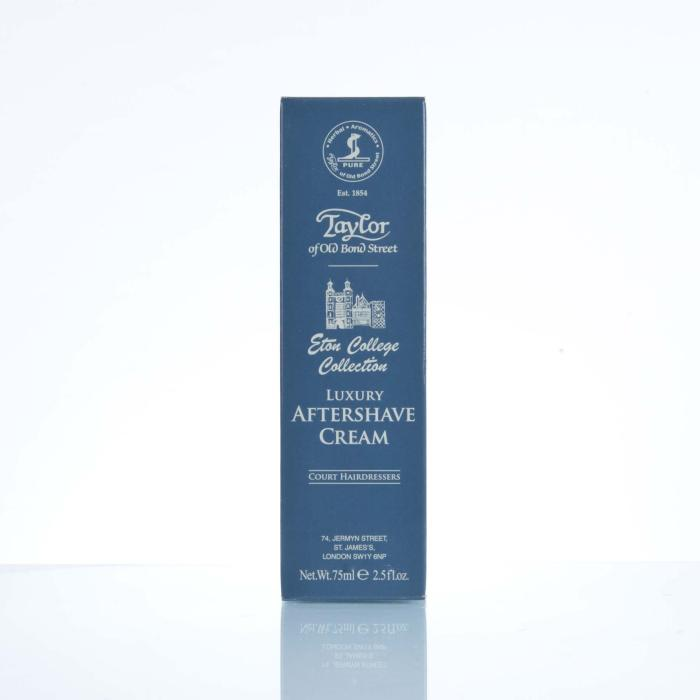 Taylor Of Old Bond Street Luxury  Aftershave Cream Eton College Collection 75 ml