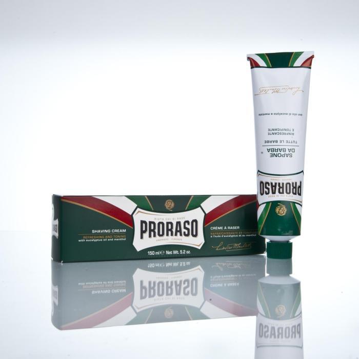Proraso Rasiercreme mit Eukalyptus und Menthol 150ml