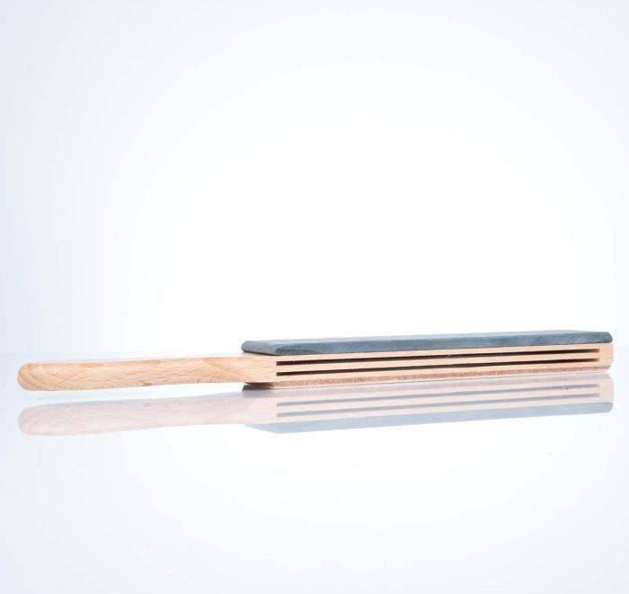 Herold Stoßriemen für Rasiermesser mit Schieferplatte