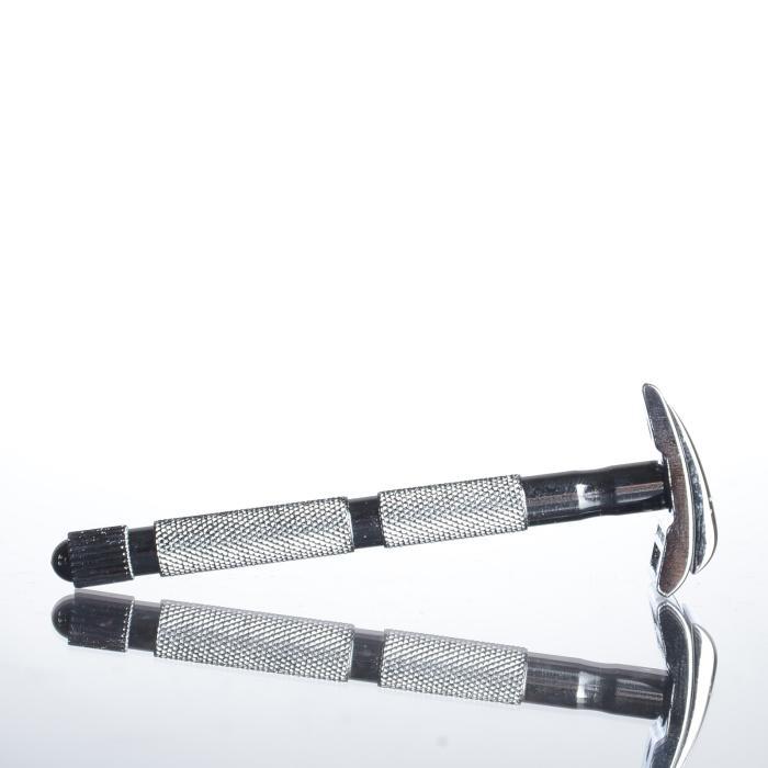 Merkur Schnurrbart- und Augenbrauenrasierer, verchromt