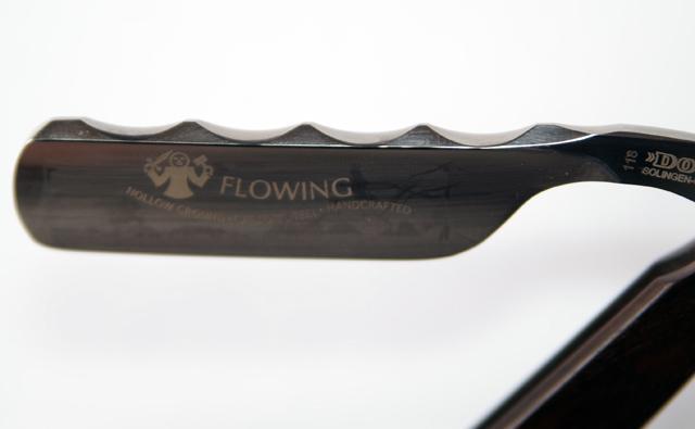 Dovo Rasiermesser N Flowing Grenadille 6/8