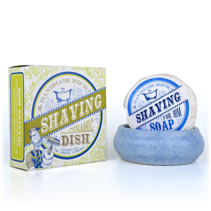 The Handmade Soap Co. - Rasierschale inklusive Rasierseife