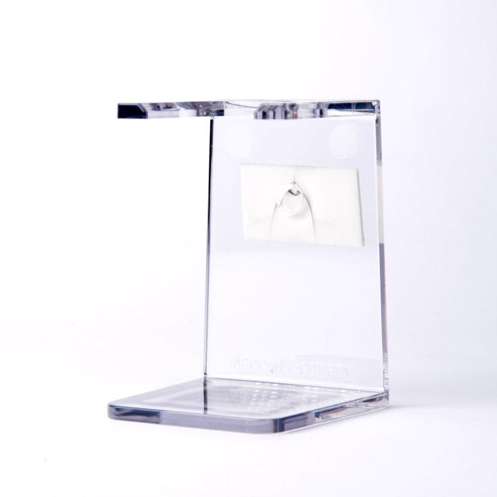 Erbe Rasierpinselhalter glasklar