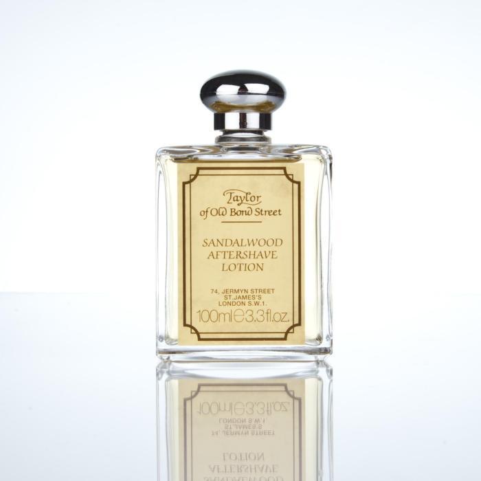 Taylor Of Old Bond Street Luxury Sandalwood Aftershave Lotion