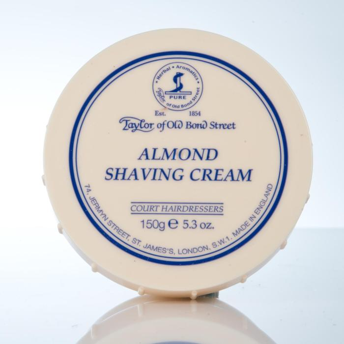 Taylor of Old Bond Street Almond Shaving Cream - Rasiercreme Mandel
