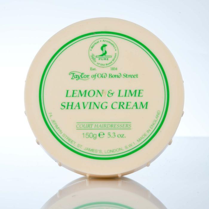 Taylor of Old Bond Street Lemon & Lime Shaving Cream - Rasiercreme Limone