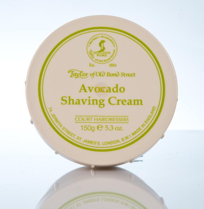 Taylor of Old Bond Street Avocado Shaving Cream - Avocado Rasiercreme