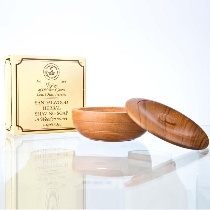 Taylor of Old Bond Street Sandalwood Herbal Shaving Soap 100g