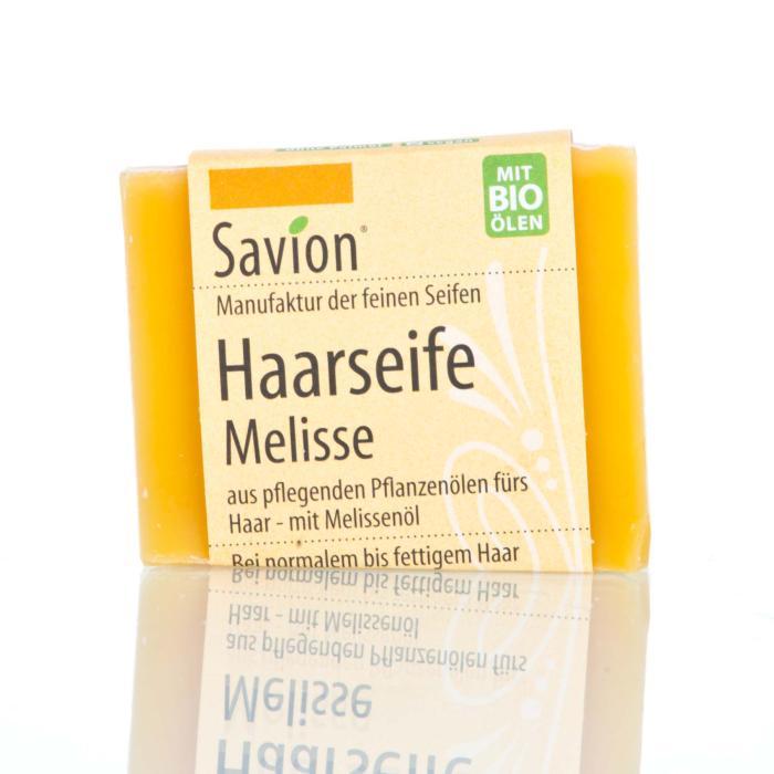 Savion Melisse Haarwaschseife,  85 g, handgemacht