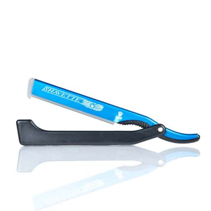 Dovo Shavette blau - Rasiermesser mit Wechselklinge