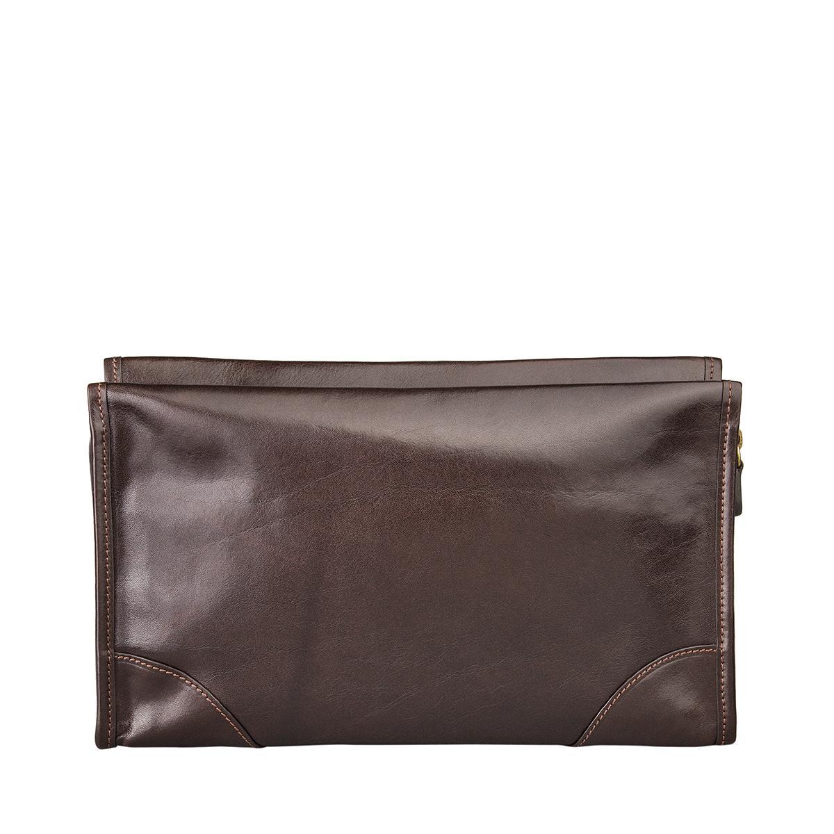 maxwell scott bags luxus reise kulturbeutel aus leder in dunkelbraun tanta. Black Bedroom Furniture Sets. Home Design Ideas