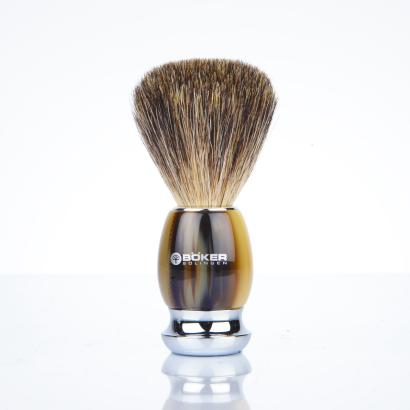 Boker shaving brush classic horn optics
