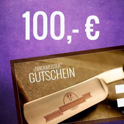 Zwickmeister Geschenkgutschein 100 Euro