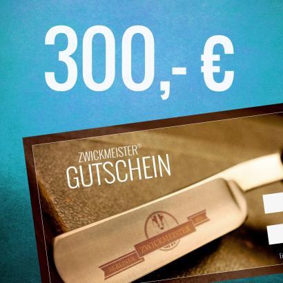 Zwickmeister Geschenkgutschein 300 Euro