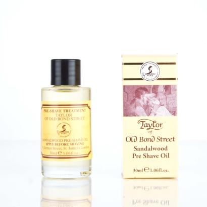 Taylor Of OLD Bond Street Pre Shave Oil Sandalwood Shaving Oil 30 ml