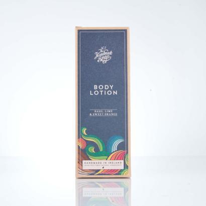The Handmade Soap Co. Body Lotion Basil, Lime & Sweet Orange 300 ml