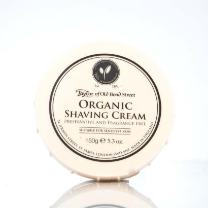 Taylor of Old Bond Street Organic Shaving Cream
