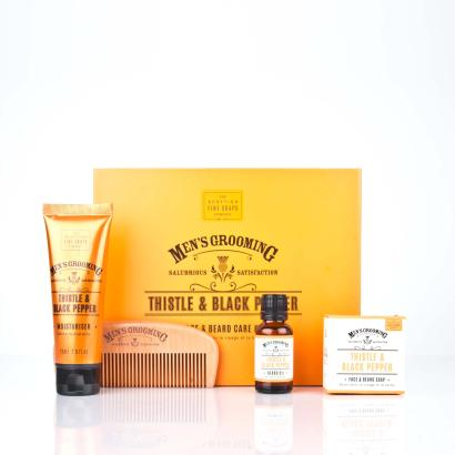 Scottish Fine Soaps Face- & Beard Care Kit Mens Grooming