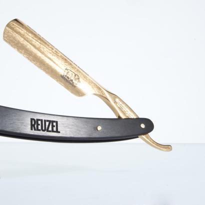 Böker Rasiermesser Reuzel Golden Axe 6/8 Limited Edition