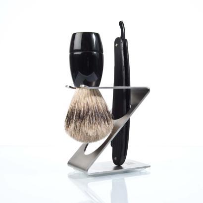 Dovo Z-Ständer Halter für Rasierpinsel und Rasiermesser