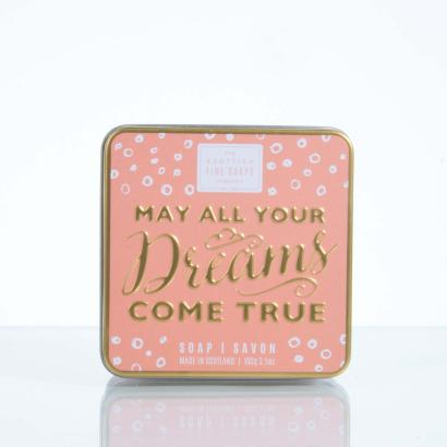 Scottish Fine Soaps Soap in a tin May All Your Dreams Come True