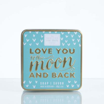Scottish Fine Soaps Soap in a tin Love You To The Moon And Back