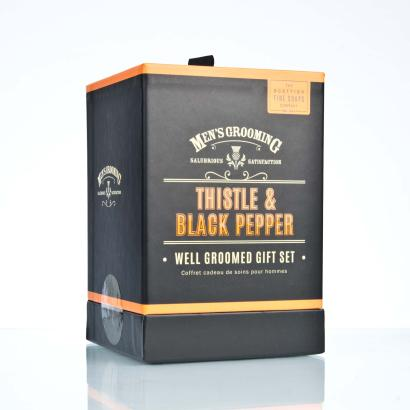 Scottish Fine Soaps Well Groomed Gift Set Geschenkset Herren
