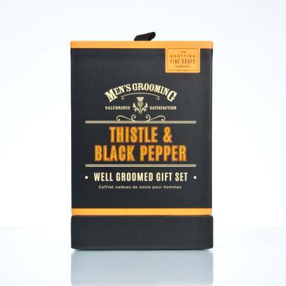 Scottish Fine Soaps Well Groomed Gift Set Geschenkset Herren