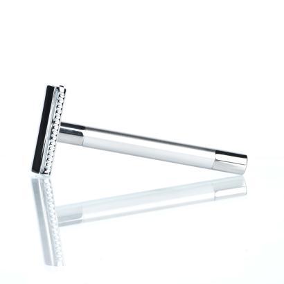 RMK Solingen Rasierhobel K1 Silber