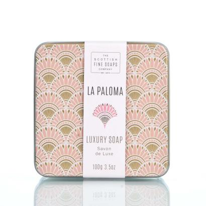 Scottish Fine Soaps Soap in a tin La Paloma
