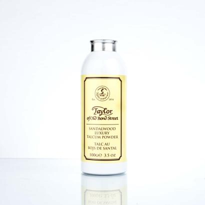 Taylor Of Old Bond Street Sandalwood Luxury Talcum Powder 100g
