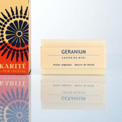 Savon Du Midi Geranium Seife
