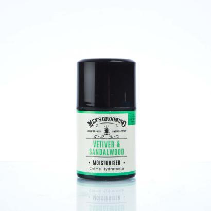 Scottish Fine Soaps - Mens Grooming Vetiver & Sandalwood Moisturiser 50ml