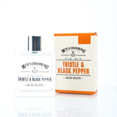 Scottish Fine Soaps - Mens Grooming Thistle & Black Pepper Eau De Toilette 100ml