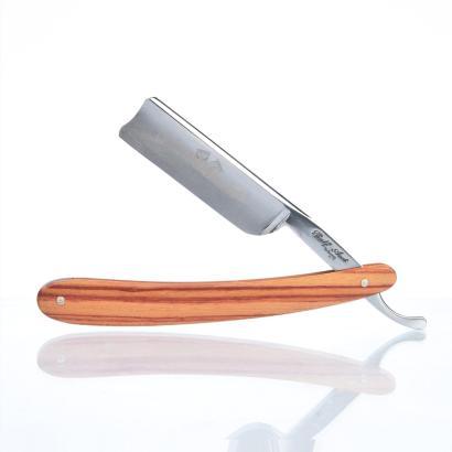Ralf Aust straight razor 6/8 Spanish Point with Rosewood Handle