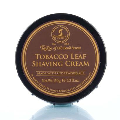 Taylor of Old Bond Street Tobacco Leaf Rasiercreme 150 g