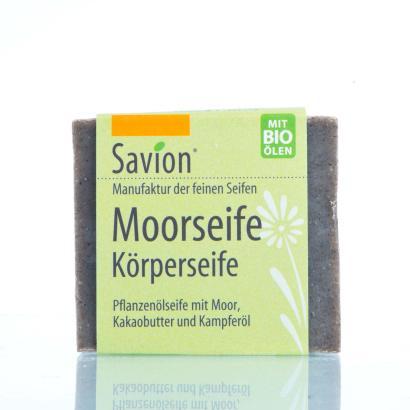 Savion Moor-Seife Hand- und Körperseife 80g Block