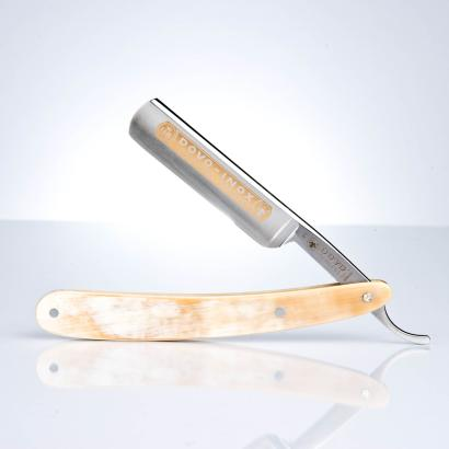 Dovo Rasiermesser Horn Inox 5/8 stainless - B-Ware