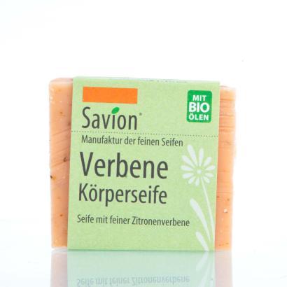 Savion Verbene Seife Hand- und Körperseife 80g Block