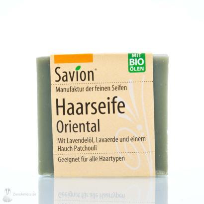 Savion Oriental  Haarwaschseife, 85 g, handgemacht