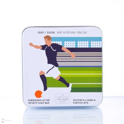 Scottish Fine Soaps Soap in a tin Soccer