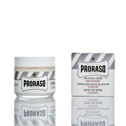 Proraso Pre Shave Creme Linea Bianca mit grünem Tee und Hafer 100ml