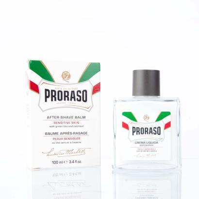Proraso Linea Bianca After Shave Balm mit grünem Tee und Hafer 100ml