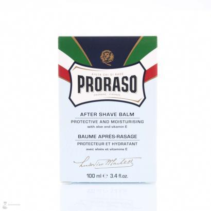 Proraso After Shave Balm mit Aloe und Vitamin E aus der Linea Blu 100 ml