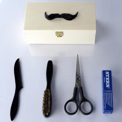 Stern Bartpflege Geschenkset