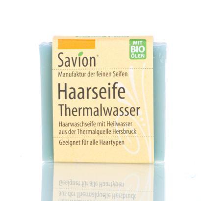 Savion Thermalwasser Haarwaschseife, 85 g, handgemacht
