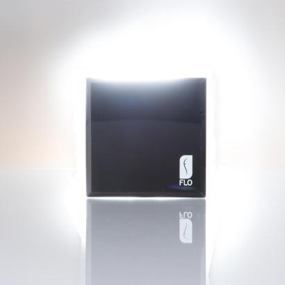 FLO LED-Taschenspiegel, schwarz